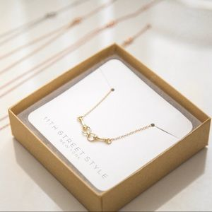 Horse Bit Necklace | 14k Gold Plated